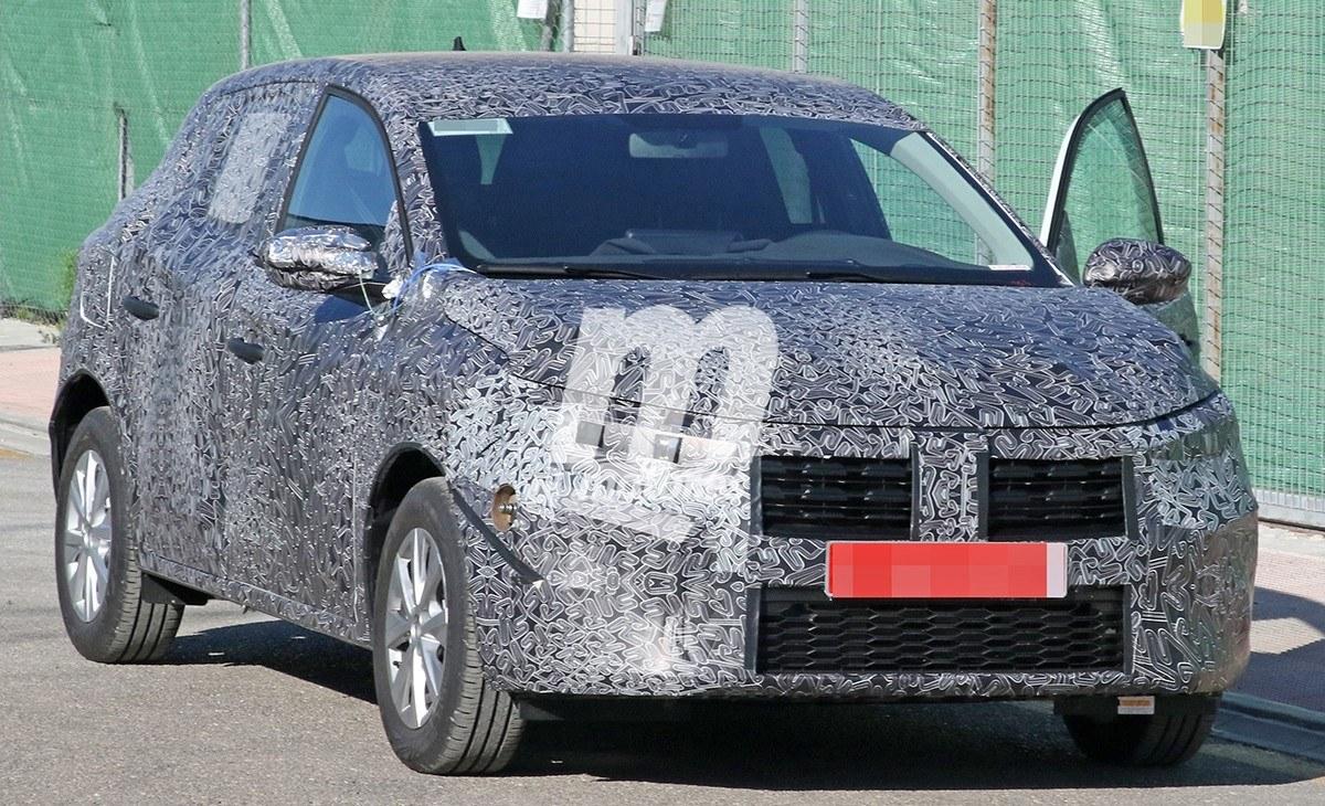 El nuevo Dacia Sandero al detalle en estas fotos espía