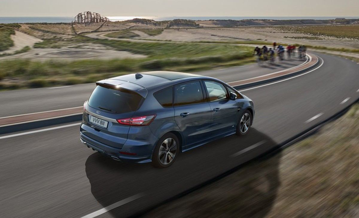 Ford S-Max Facelift (2019) - CocheSpias.net