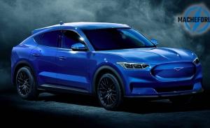 Estos renders desvelan el aspecto del futuro Ford Mach E eléctrico