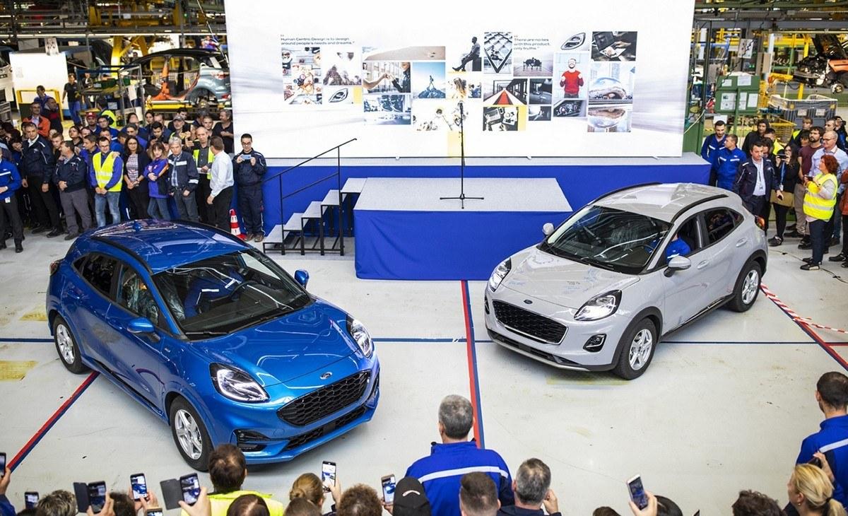 La producción del nuevo Ford Puma está en marcha en Rumanía