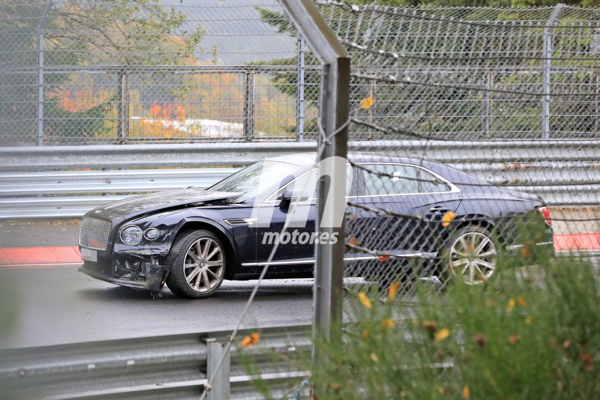 Prototipos de Bentley, BMW y Porsche, accidentados en Nürburgring