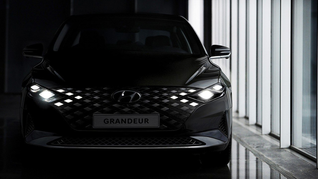 El nuevo Hyundai Grandeur 2020 se deja entrever en este adelanto oficial