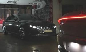 El nuevo Hyundai Grandeur 2020 al descubierto sin camuflaje