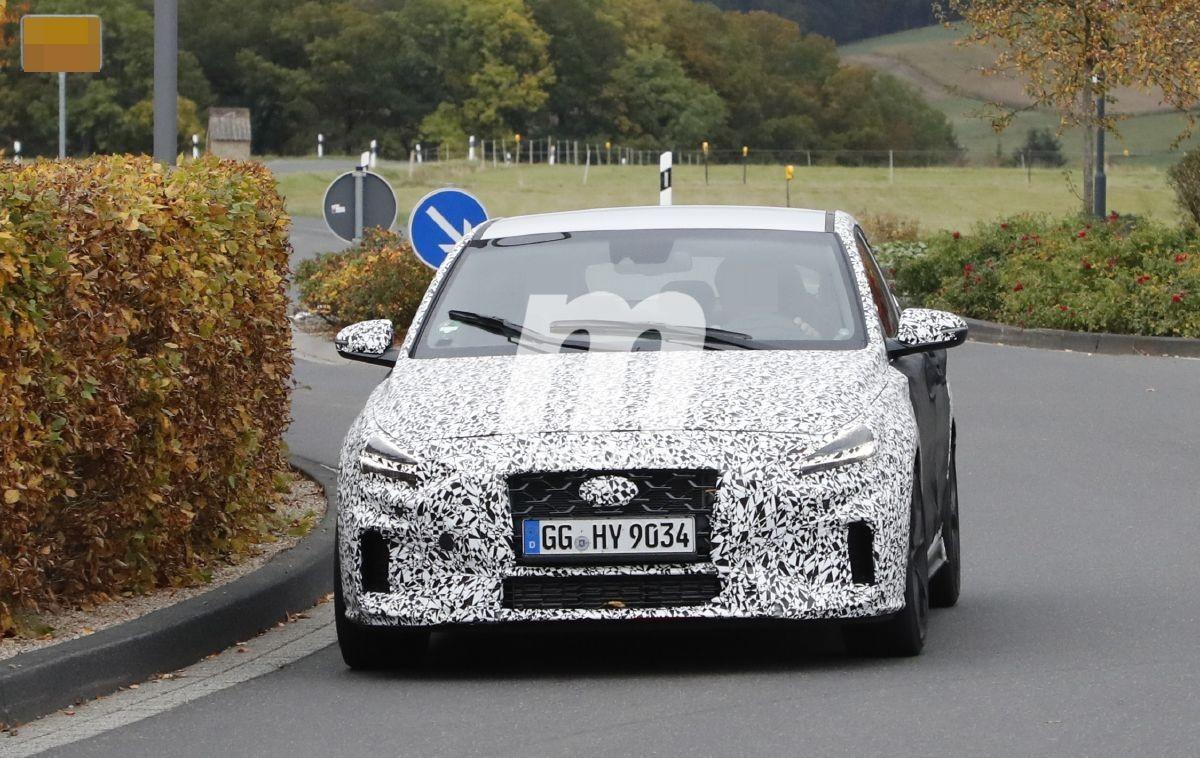 El lavado de cara del Hyundai i30 Fastback N 2021 deja a la vista nuevos detalles