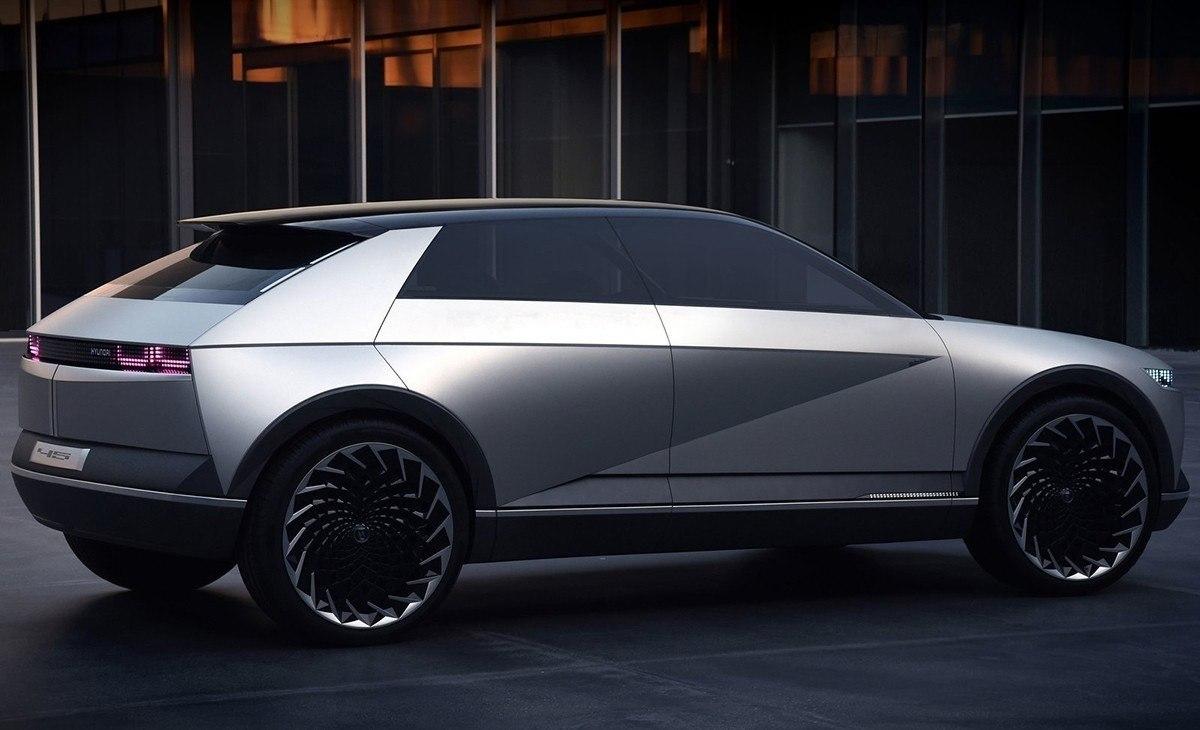 El Hyundai 45 Concept se transformará en un crossover eléctrico para 2021