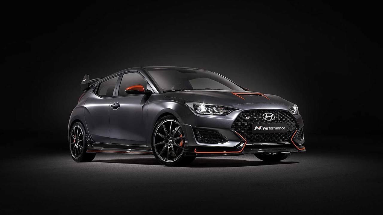 Hyundai Veloster N Performance Concept, más agresividad y deportividad