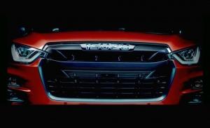 El nuevo Isuzu D-Max 2020 desvela el frontal en su primer teaser