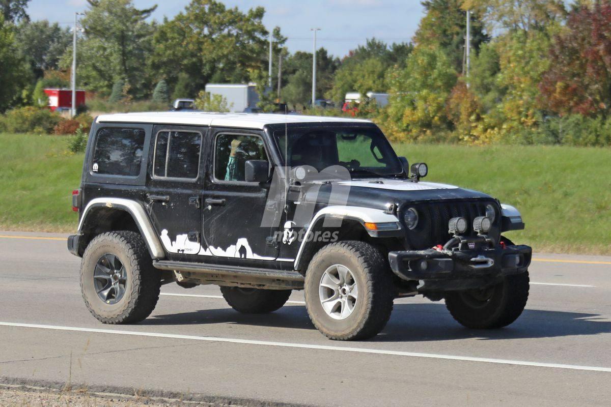 Episodio 9: al descubierto el nuevo Jeep Wrangler Stormtrooper