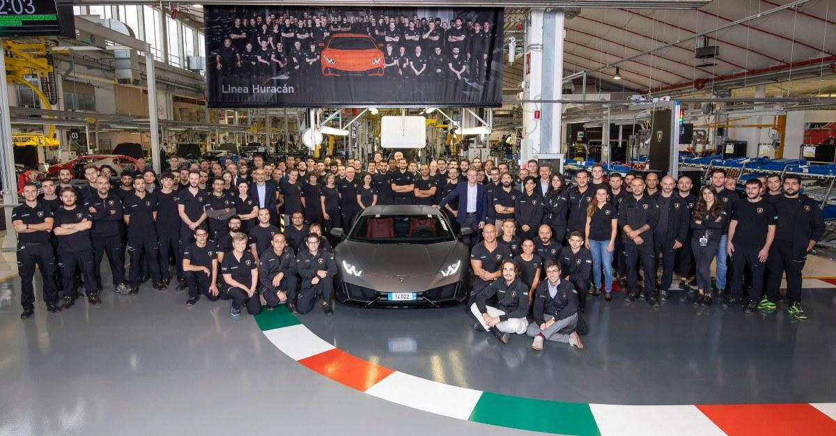 El Lamborghini Huracán supera la producción del Gallardo en la mitad de tiempo