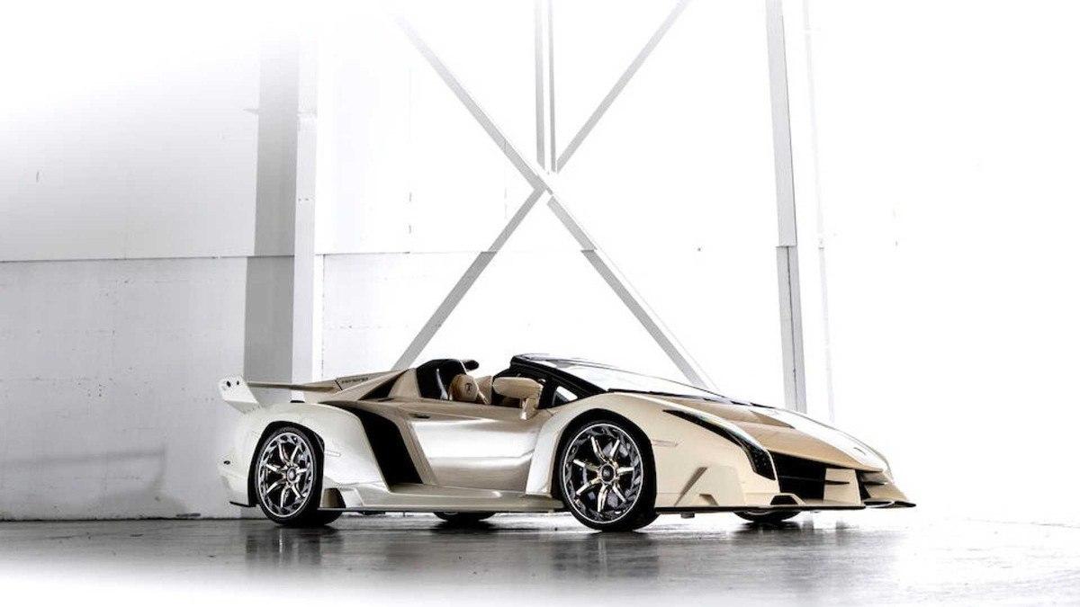El Lamborghini Veneno Roadster se convierte en el Lambo más caro de la historia