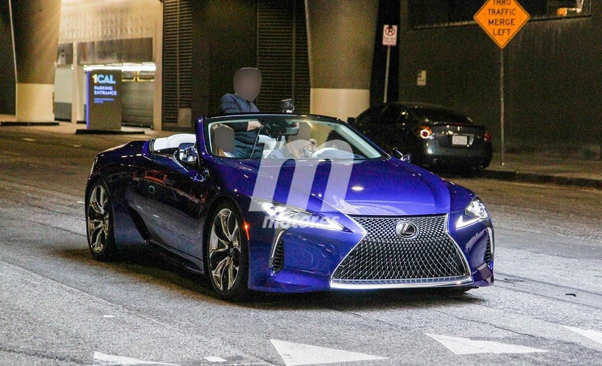 El nuevo Lexus LC Cabrio totalmente al descubierto en estas fotos espía