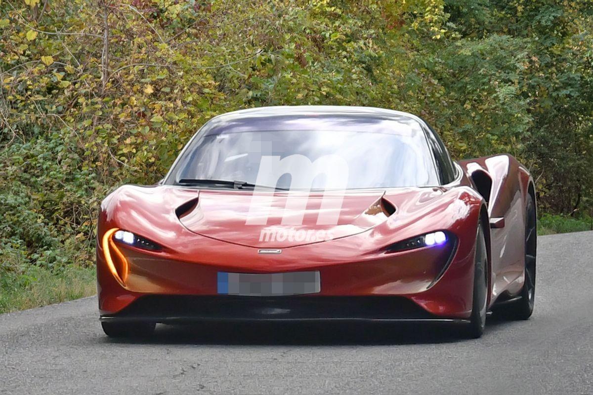 Los prototipos del nuevo McLaren Speedtail 2020 continúan en pruebas