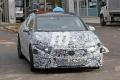 Nuevas fotos espía muestran al Mercedes EQS 2021 en pruebas, interior incluido