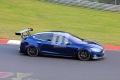 Tesla sorprende en Nürburgring con un nuevo alerón en el Model S Plaid