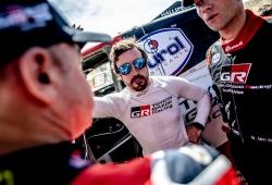 """Alonso: """"El Dakar es el reto más difícil al que me he enfrentado"""""""
