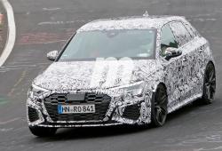 El nuevo Audi RS 3 Sportback 2021 cazado a su paso por Nürburgring