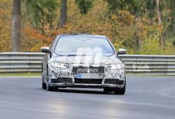 Los BMW Serie 5 y Serie 5 Touring facelift asaltan Nürburgring en unas nuevas pruebas