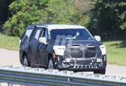 El nuevo Cadillac Escalade 2021 revela su nueva y enorme parrilla