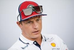 """La F1 parece """"ridícula"""" por no competir cuando hay mucha agua, según Räikkönen"""