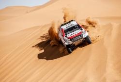 Fernando Alonso marca en rojo el Ula Rally en su camino al Dakar