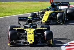 La FIA excluye a Renault de los resultados del GP de Japón tras la queja de Racing Point