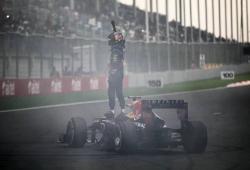 Vettel se lleva el GP de Bélgica con comodidad