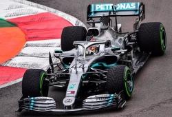 Hamilton manda en los primeros libres en el Autódromo Hermanos Rodríguez