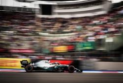 """Hamilton: """"La tercera posición era posible, pero fue difícil seguir el ritmo de los demás"""""""