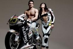 Honda luce patrocinio playboy en MotoGP y Qatar se opone por las leyes de su pais