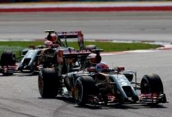 Lotus: ''No tenemos órdenes de equipo, nuestros pilotos son libres de luchar entre ellos''