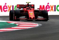 Leclerc, mejor tiempo 'in extremis' de los últimos libres en el Hermanos Rodríguez