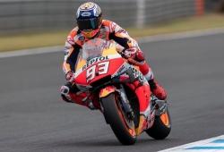 Marc Márquez logra la pole en Motegi, la única que le faltaba en MotoGP
