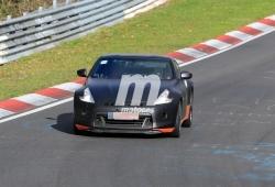 Nissan comienza el desarrollo del nuevo 370Z con una mula rodando en Nürburgring