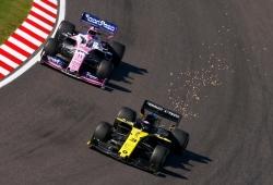 Racing Point protesta contra Renault por su sistema de frenado