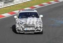 El nuevo Rolls Royce Ghost llega a Nürburgring para unas pruebas dinámicas