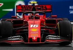 Leclerc saldrá desde la pole de México tras la sanción a Verstappen