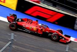 """Vettel sí levantó el pie: """"Había una doble bandera amarilla"""""""