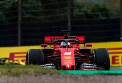 Vettel niega que ganase ventaja con su salida en falso y la FIA le apoya