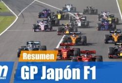[Vídeo] Resumen del GP de Japón de F1 2019