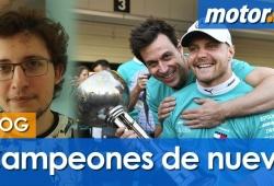 [Vídeo] ¡Y Mercedes ya es campeón!