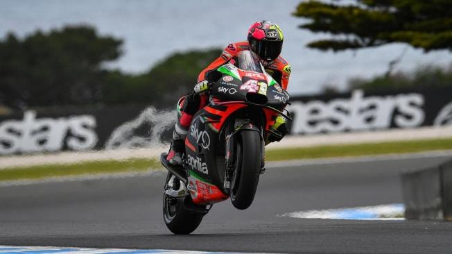 Aprilia se agarra a su mejor resultado en MotoGP para seguir creciendo