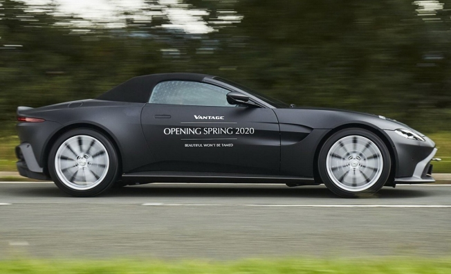Aston Martin Vantage Roadster 2020 - lateral