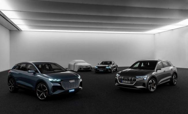 Audi adelanta un nuevo coche eléctrico
