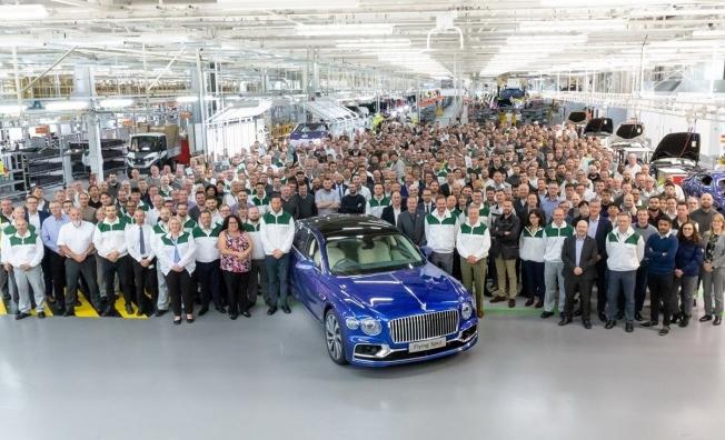 Bentley Flying Spur 2020 - producción