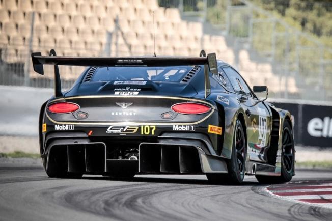 Bentley valora reestructurar su programa en GT3 junto a M-Sport