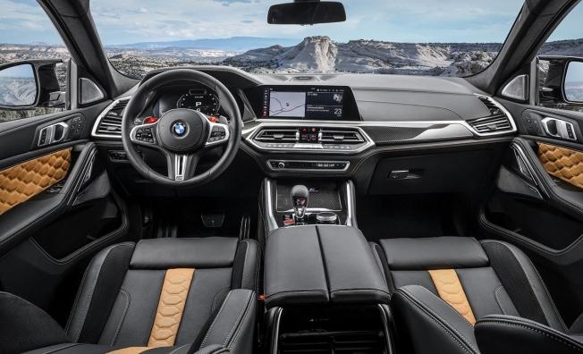 BMW X6 M 2020 - interior