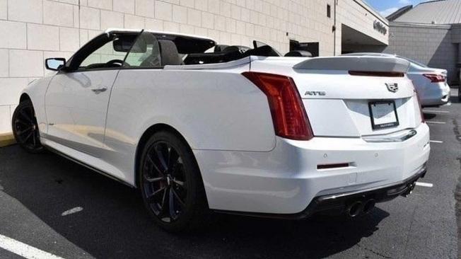 Cadillac ATS-V Cabrio - posterior