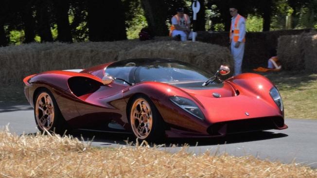 El corazón del De Tomaso P72 será un motor V8 de Ford