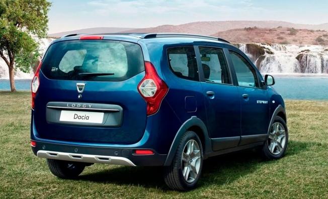 Dacia Lodgy - posterior