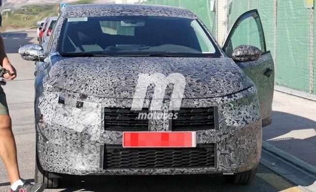Dacia Sandero 2020 - foto espía frontal